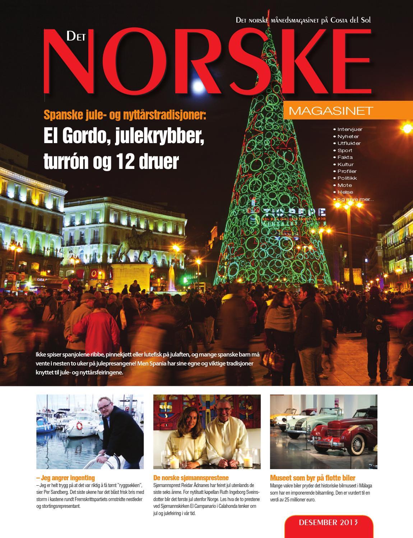 22664f8bba5 Det Norske Magasinet desember 2013 by Norrbom Marketing - issuu
