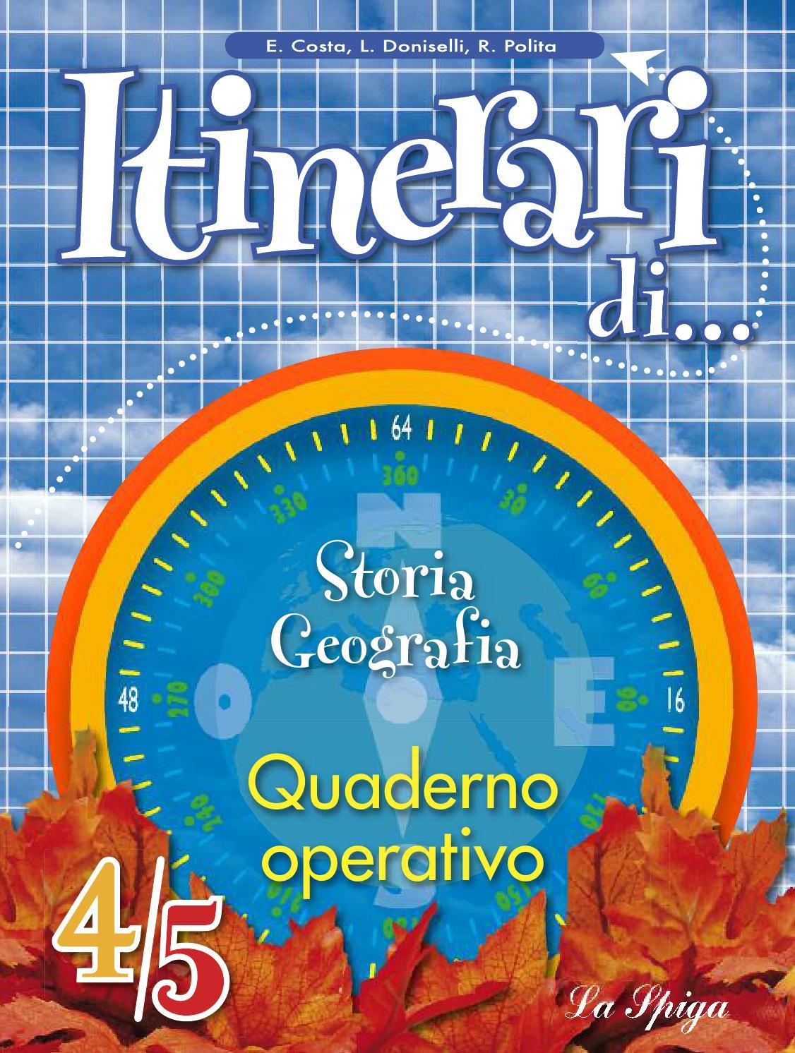 Itinerari Quaderno Storia Geo45 By Roberta Burlando Issuu
