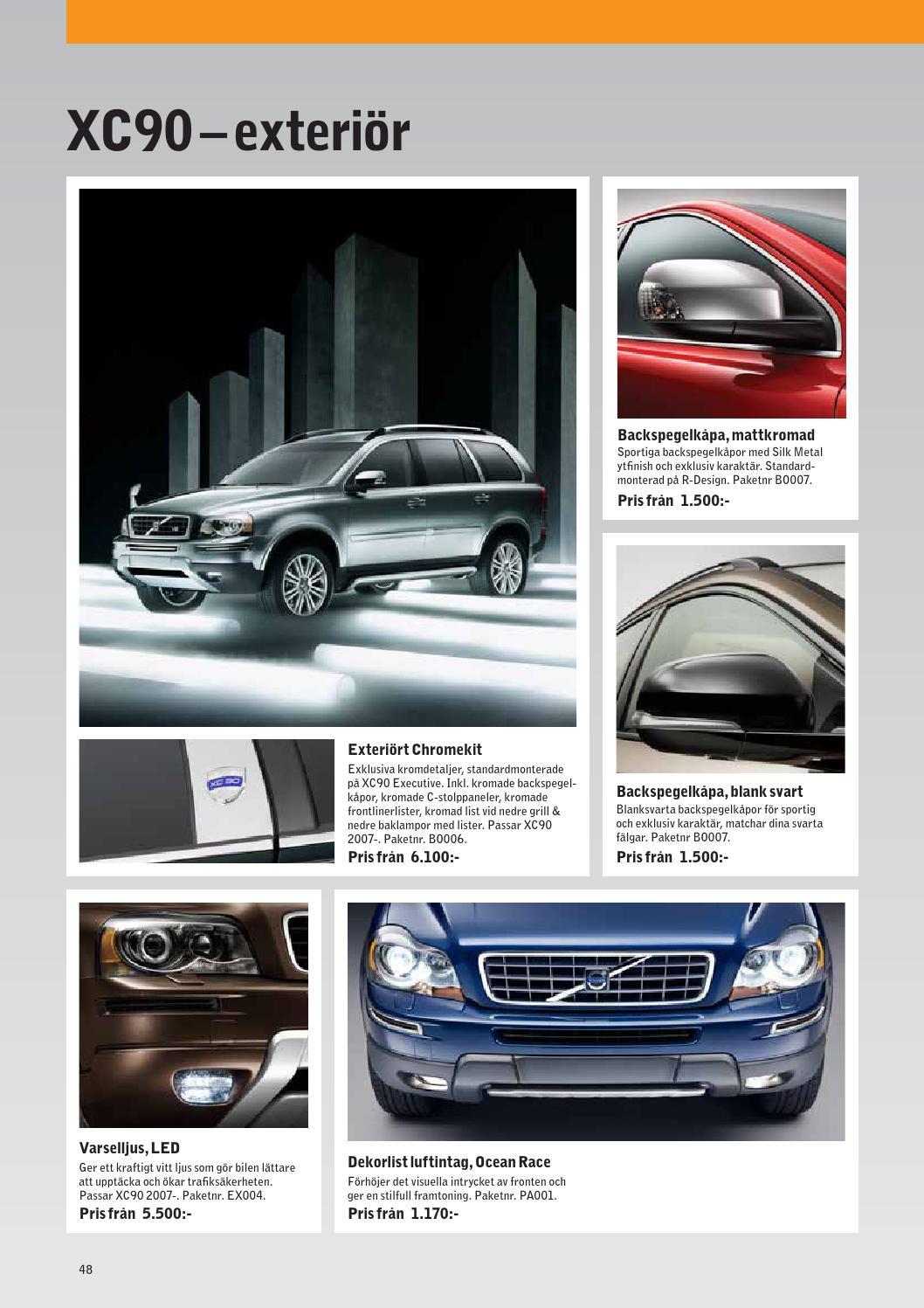 Omtalade Tillbehörskatalog Volvo XC60, XC70, XC90 & V40CC by Bilia QY-03