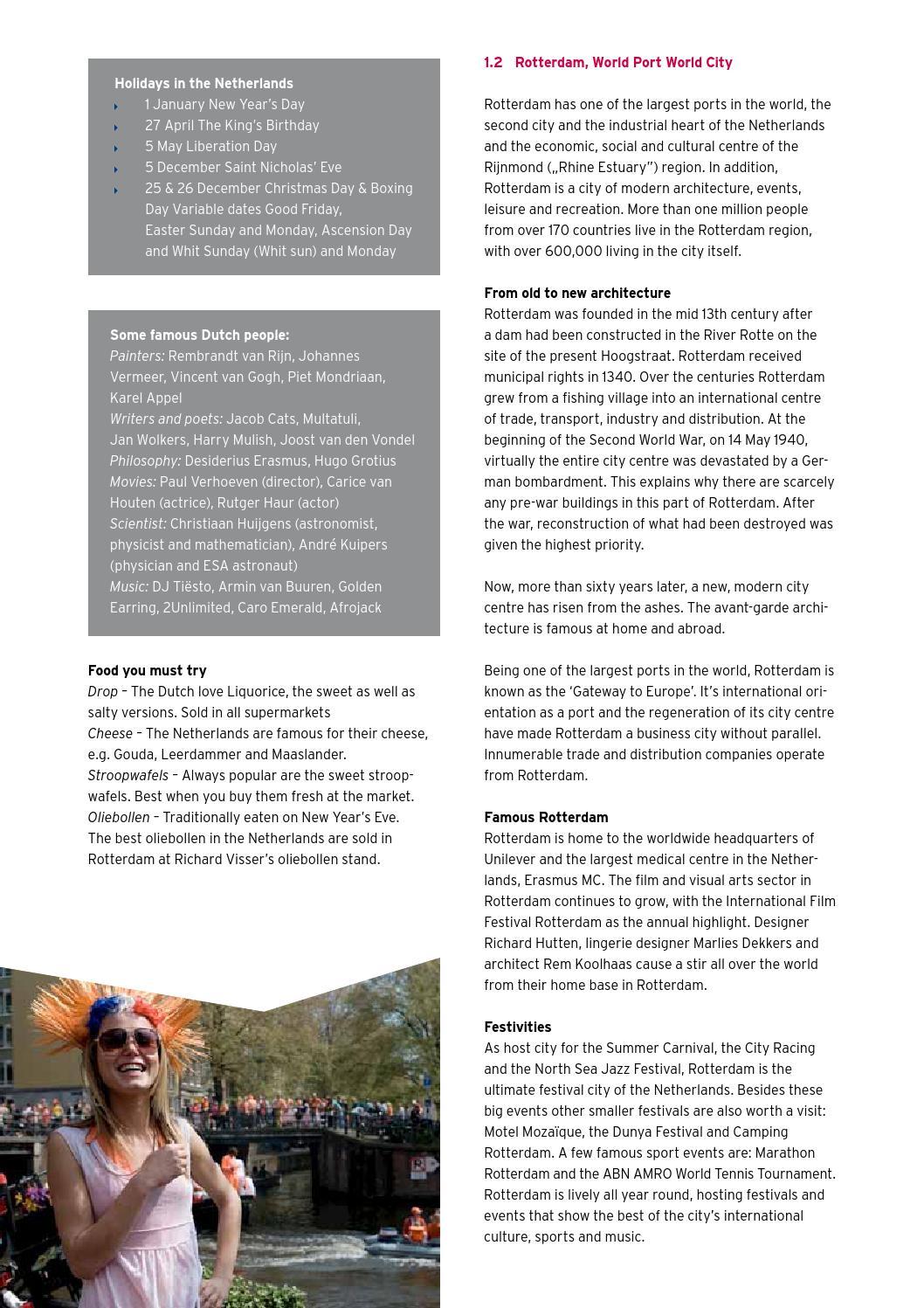 Handbook for international students by Hogeschool Rotterdam