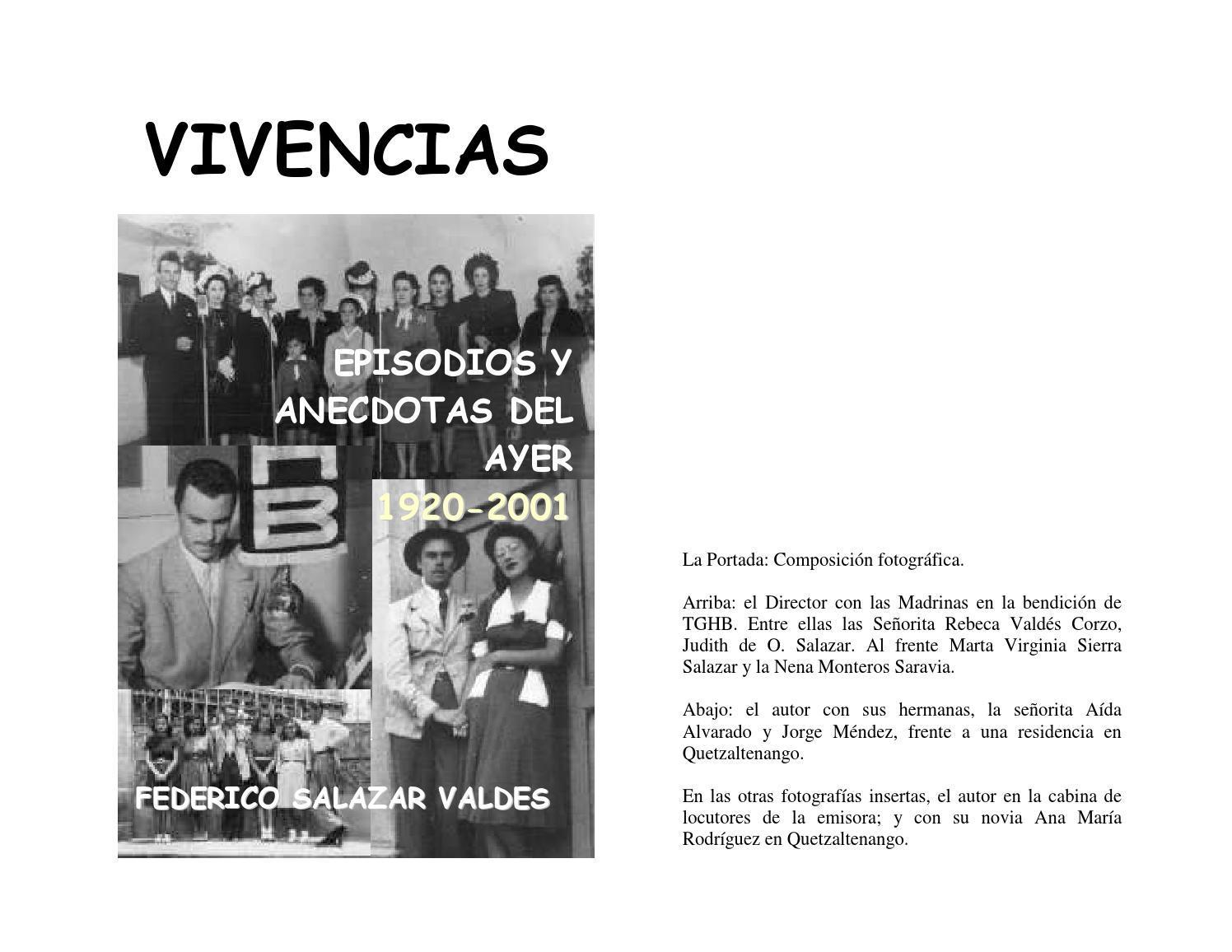 Vivencias by Federico Salazar - issuu