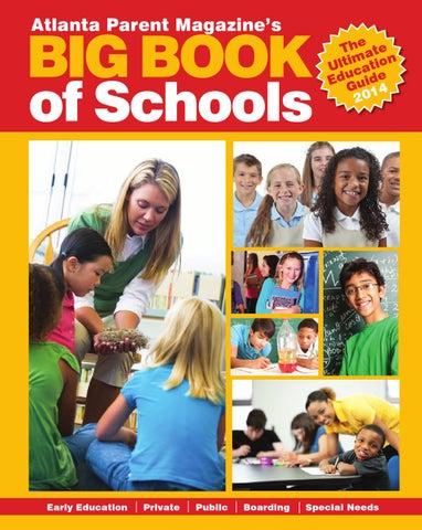 Big Book Of Schools 2014 By Atlanta Parent Issuu