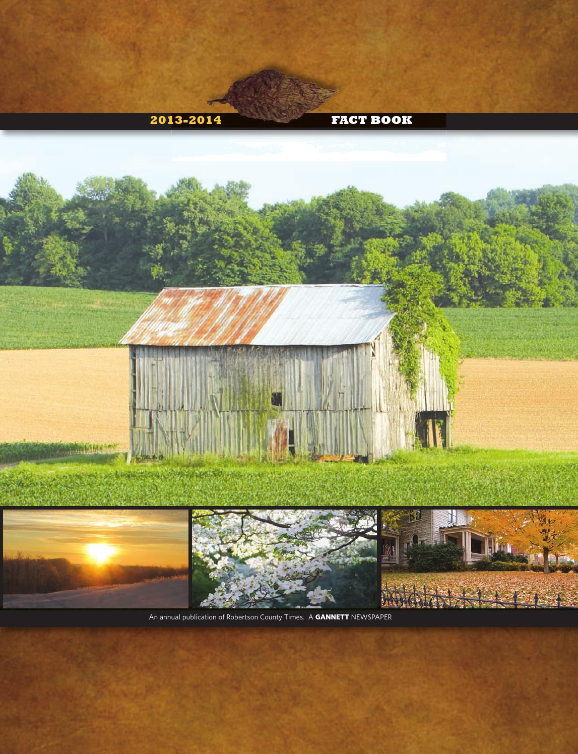 Robertson County 2013 Fact Book By Tnmedia Issuu
