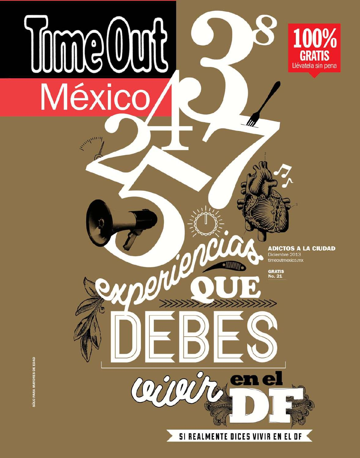 Time Out México diciembre 2013 by Time Out México - issuu a1b00c24566
