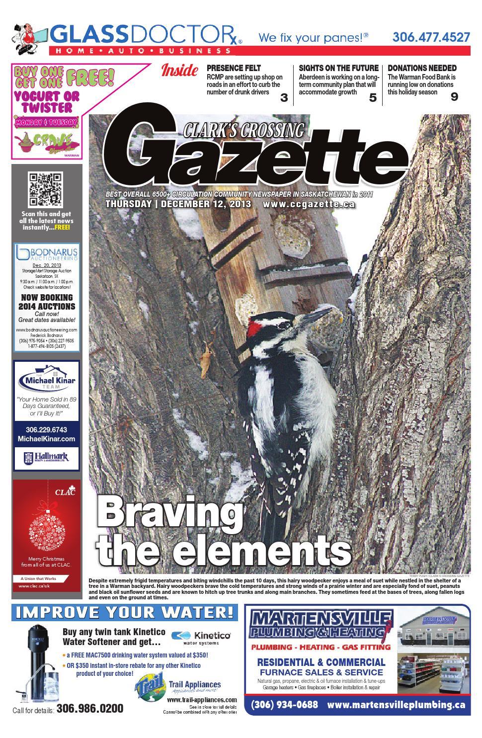 Clark's Crossing Gazette December 12, 2013 issue by Jenson