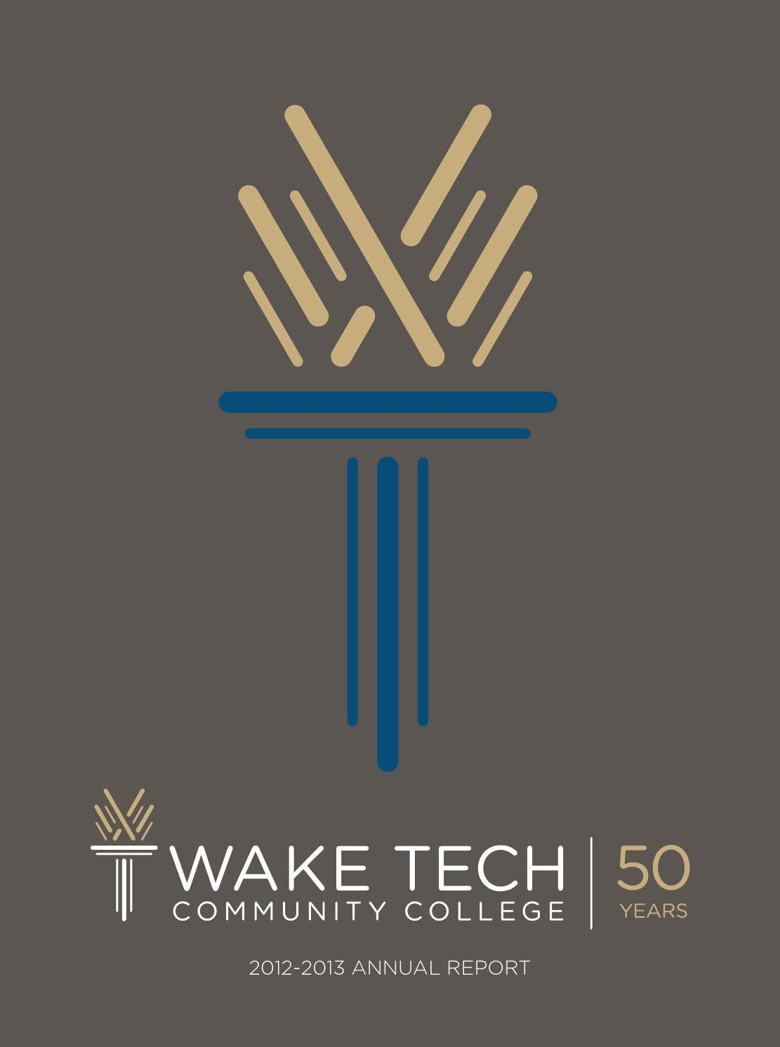 Wake tech annual report issuu edition by Wake Tech ...
