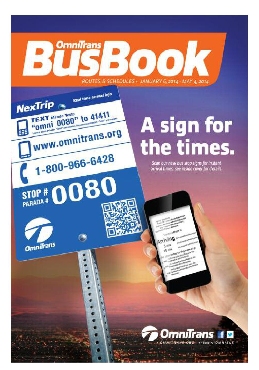 JAN 2014 Bus Book - Omnitrans by Omnitrans - issuu