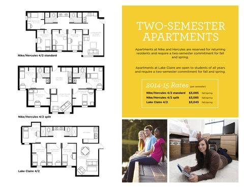 Ucf Housing Floor Plans 2014 15 By University Of Central