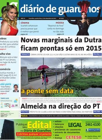 a457710298 Diário de Guarulhos - 12-12-2013 by Diario Guarulhos - issuu