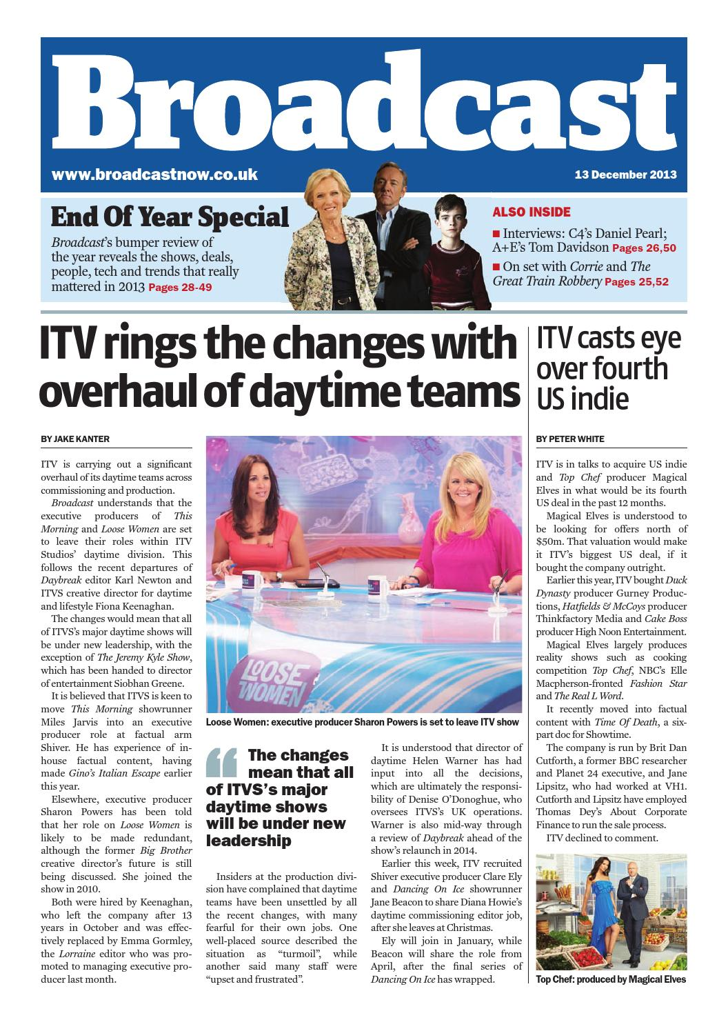 Broadcast 13th December by Media Business Insight - issuu