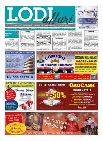 Lodi Affari 3 Dicembre by Lodi Affari - issuu de974258511