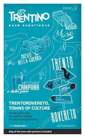 TrentoRovereto. Towns of culture card by APT Rovereto e Vallagarina ... 8c434cffa54c