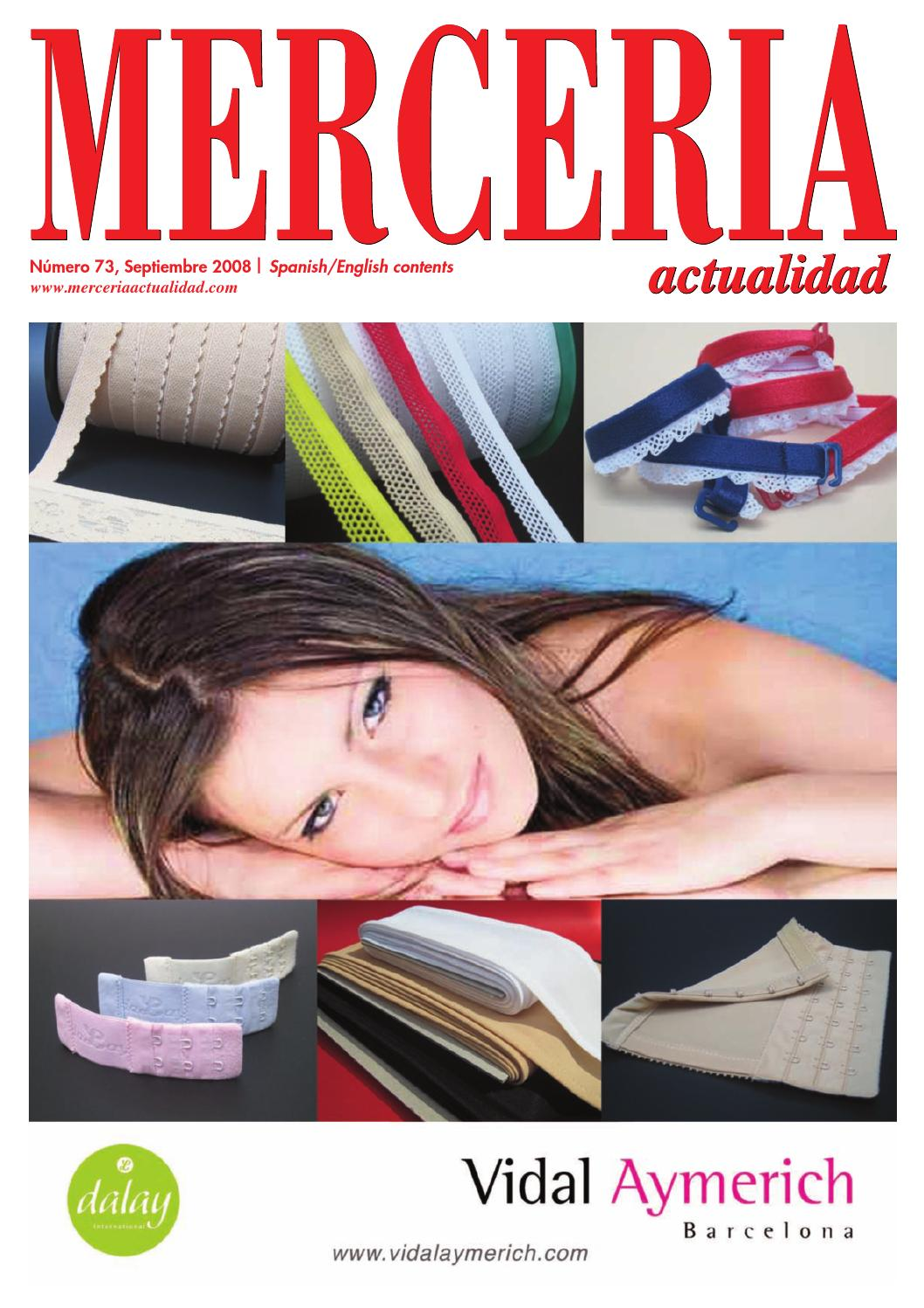 68f9737e7462 Mercería Actualidad 73 Haberdashery products and handicrafts by Prensa  Técnica S.L. - issuu