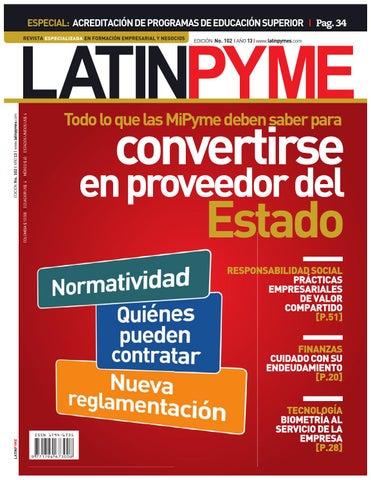 Edición Latinpyme No. 102