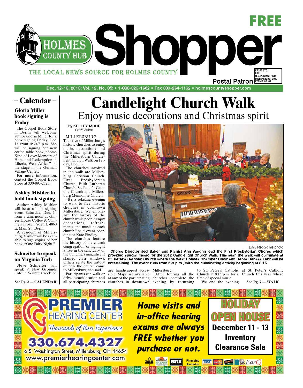 b285e85b0d1c34 Holmes County Hub Shopper, Dec. 12, 2013 by GateHouse Media NEO - issuu