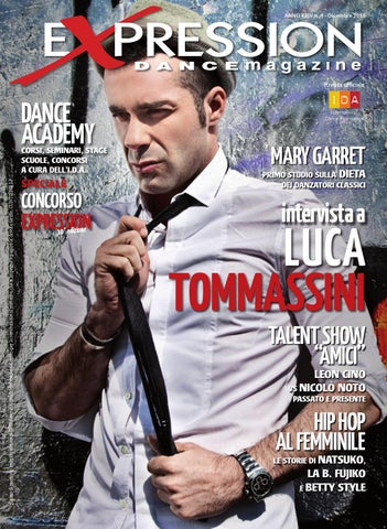 Expression Dance Magazine Agosto 2012 by IDA International Dance ... 063138a715da