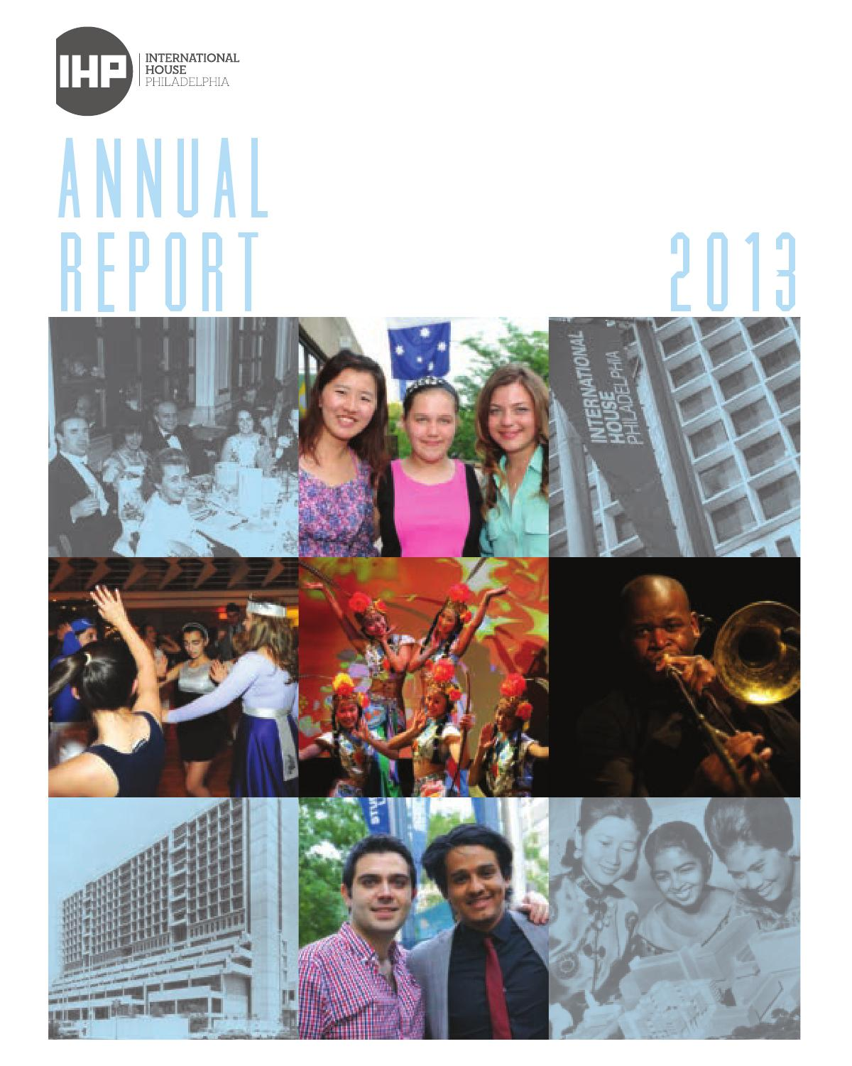ihp's annual report, 2013 by international house philadelphia - issuu