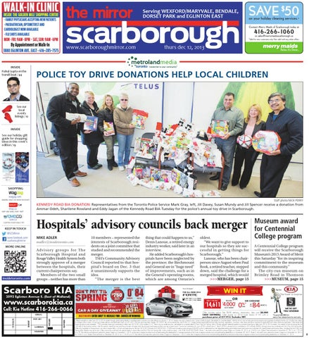 December 12 central by the scarborough mirror issuu page 1 fandeluxe Image collections