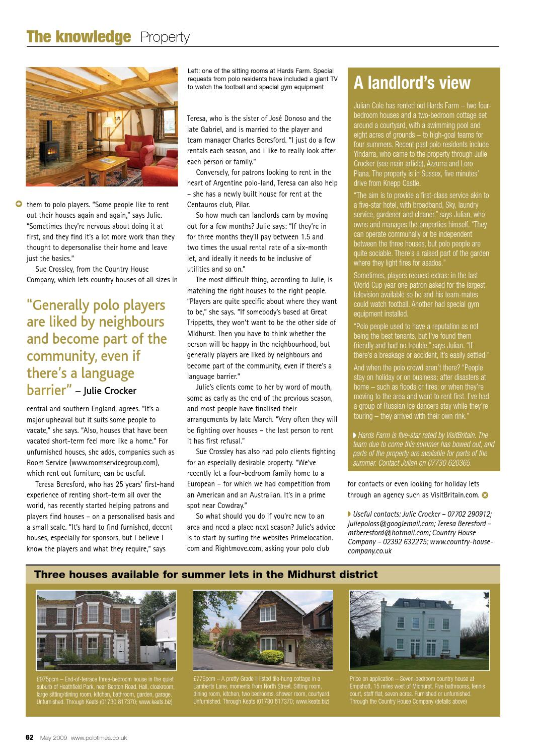 The Country House Company pt may2009 by edit - issuu