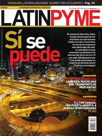 Edición Latinpyme No. 75