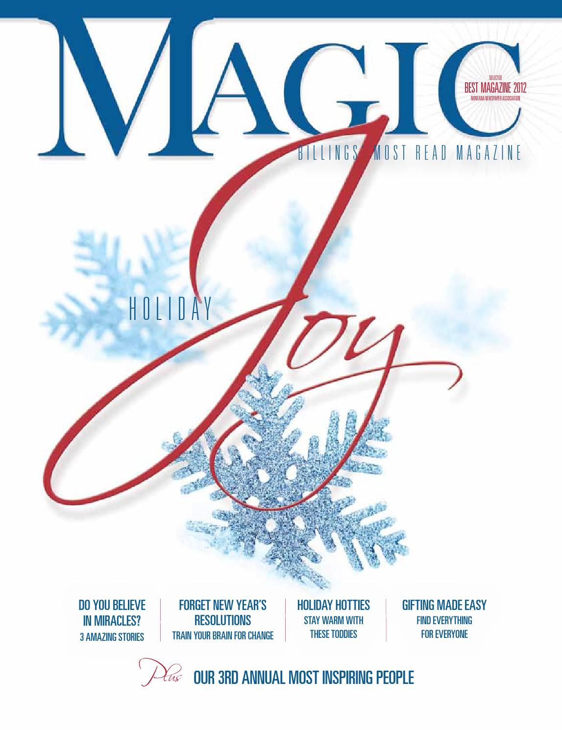 ca00c9b9229 Holiday 2013 by Billings Gazette - issuu