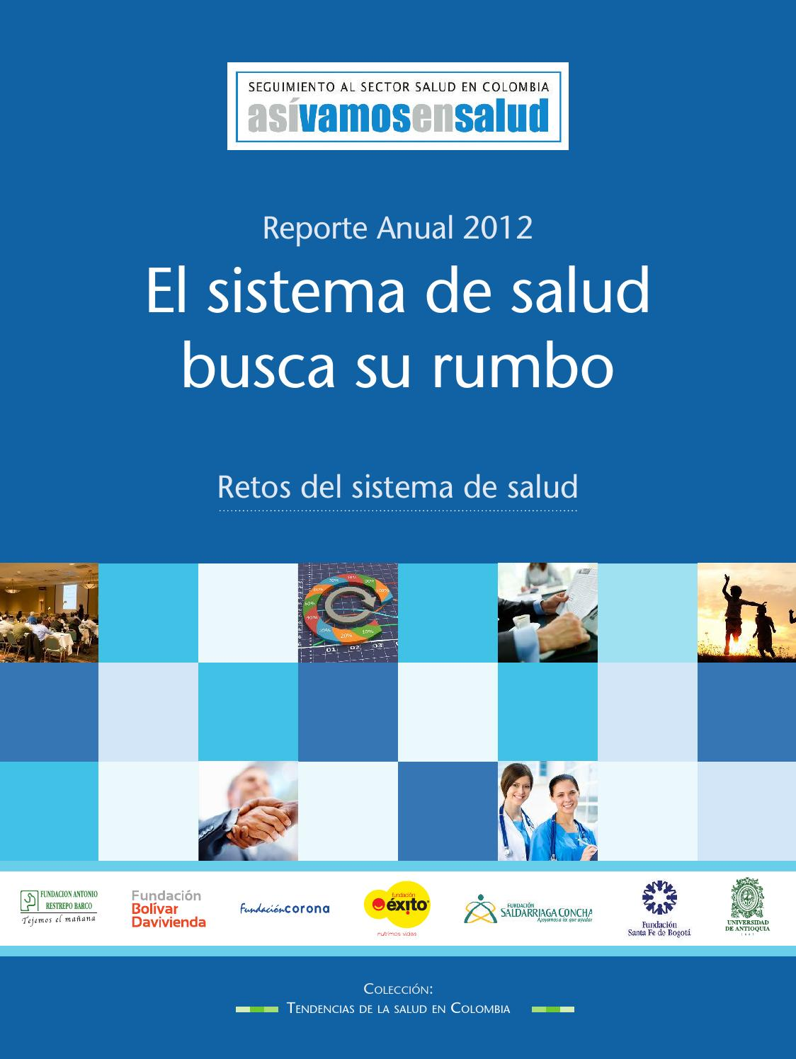 Informe anual avs 2012 by Así Vamos en Salud - issuu