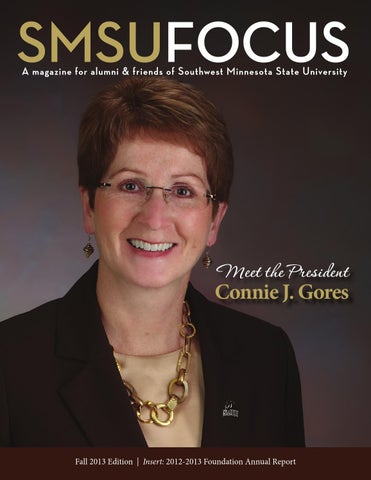 SMSU Focus/Annual Report Fall 2012 by Southwest Minnesota State University  - issuu