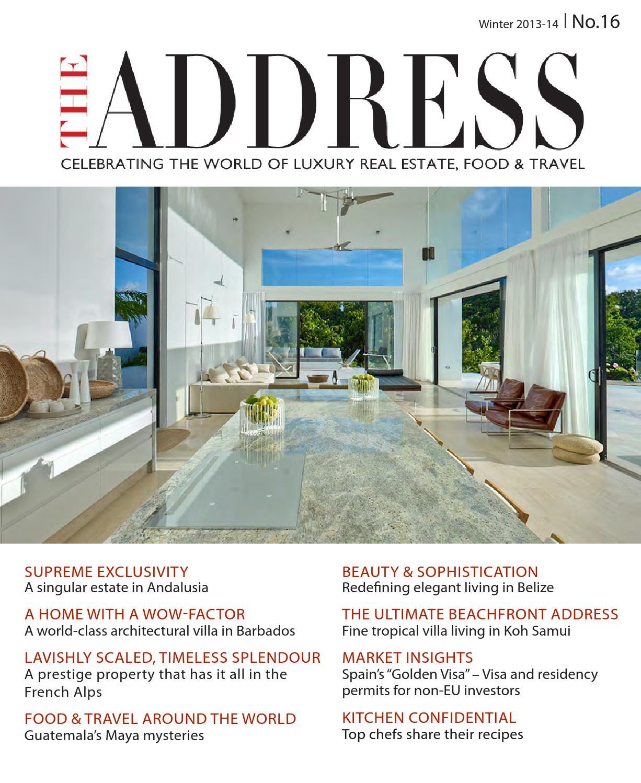 THE ADDRESS Magazine No16 by Select International CB - issuu