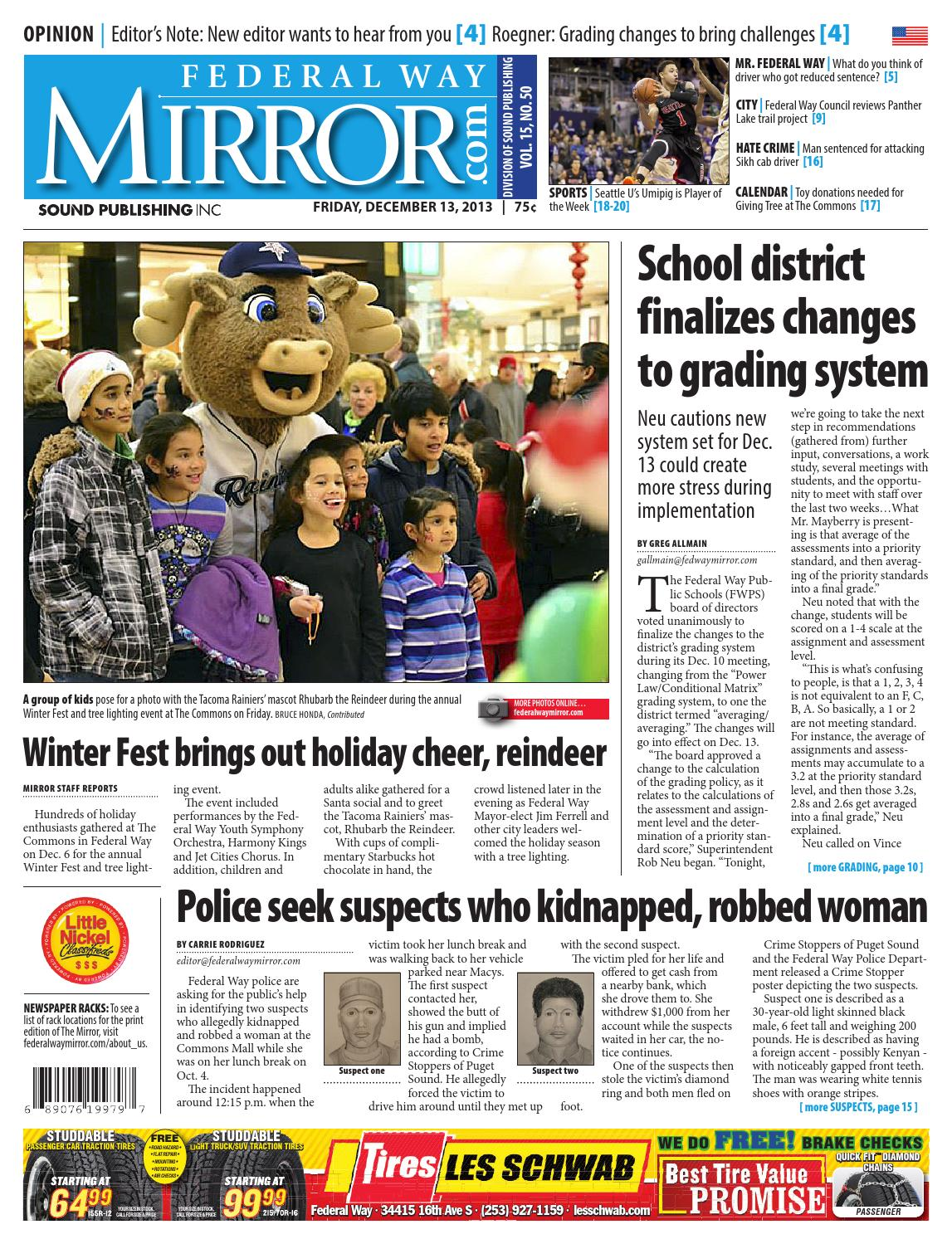 Round Table Federal Way Federal Way Mirror December 13 2013 By Sound Publishing Issuu
