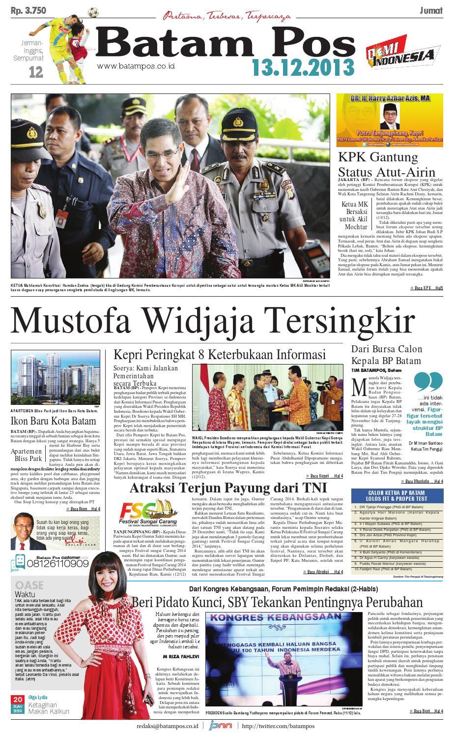 13 Desember 2013 By Batampos Newspaper Issuu Produk Ukm Bumn Kain Batik Middle Premium Sutera