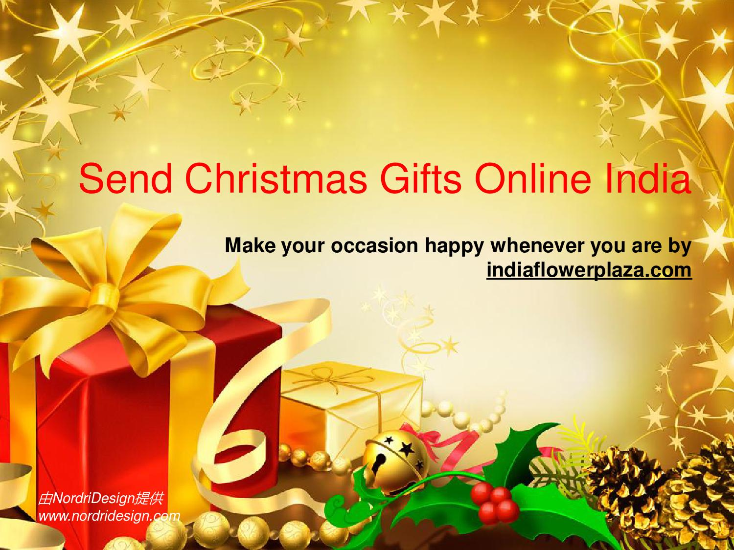 Send christmas gifts online india by inlkhfaza - issuu