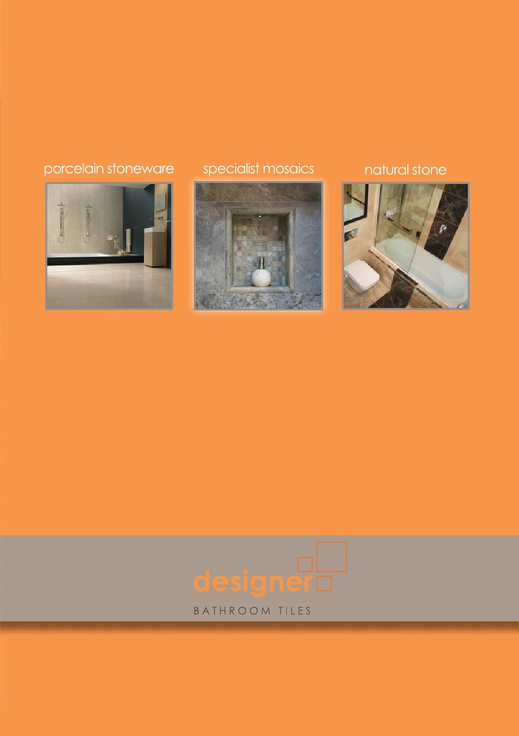 Designer Bathroom Tiles Catalogue 2014 by abacusdirect - Issuu
