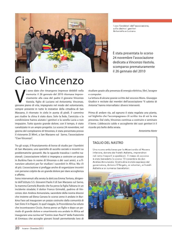 Cucina Della Mamma Nocera Inferiore insieme - dicembre 2013 by diocesi nocera inferiore-sarno