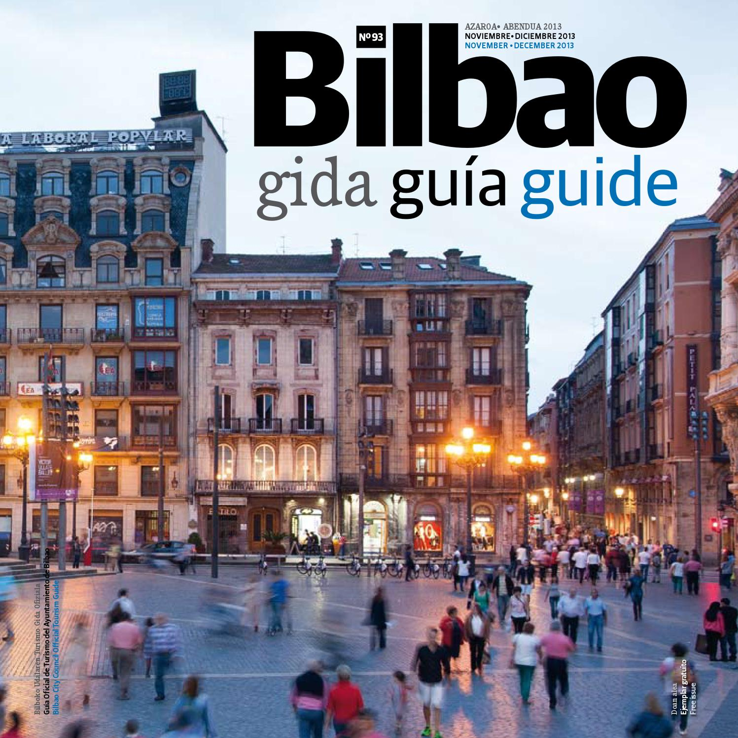 Bilbao gida guia guide by Bilbao Turismo - issuu 3c456c4dec2