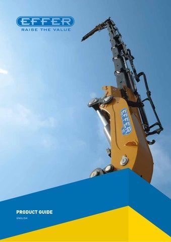 effer product guide by matteo ligabue issuu rh issuu com Knuckle Lift Effer Crane Dealers