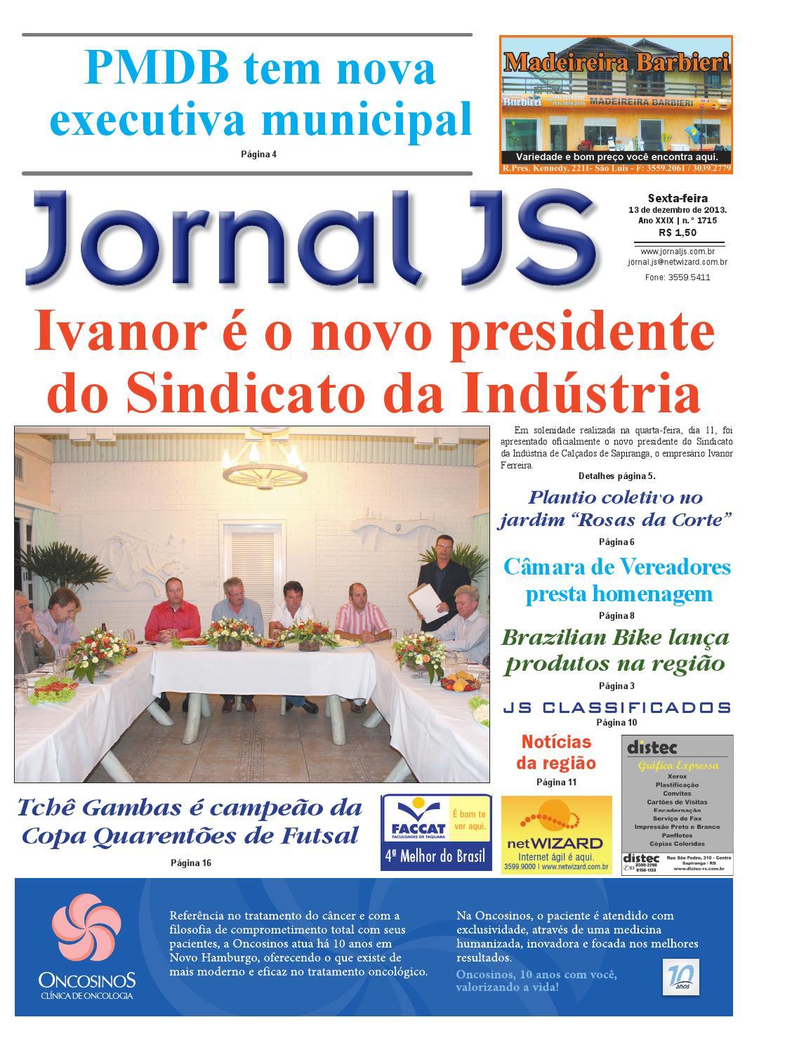 077c94725 Jornal JS - 13 de dezembro de 2013 by JORNAL JS - issuu