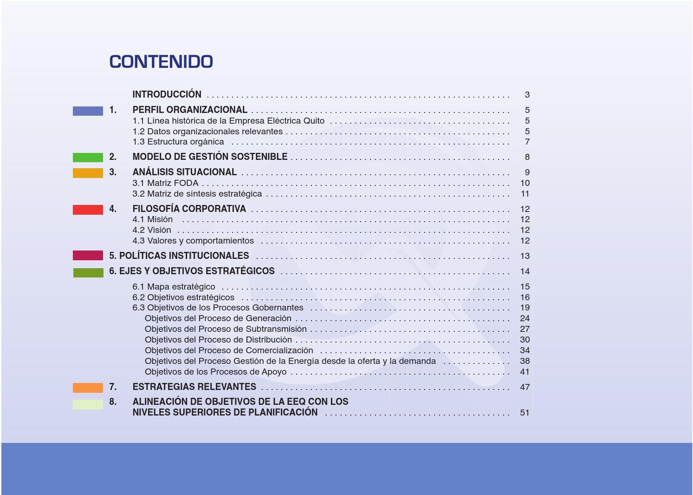 Plan Estratégico 2012 - 2015 by Empresa Eléctrica Quito - EEQ - issuu