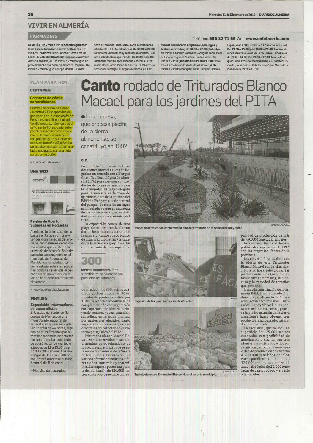 Dossier De Prensa Discapacidad Del 11 Al 13 De Diciembre De 2013  # Hazan Muebles Gavilan