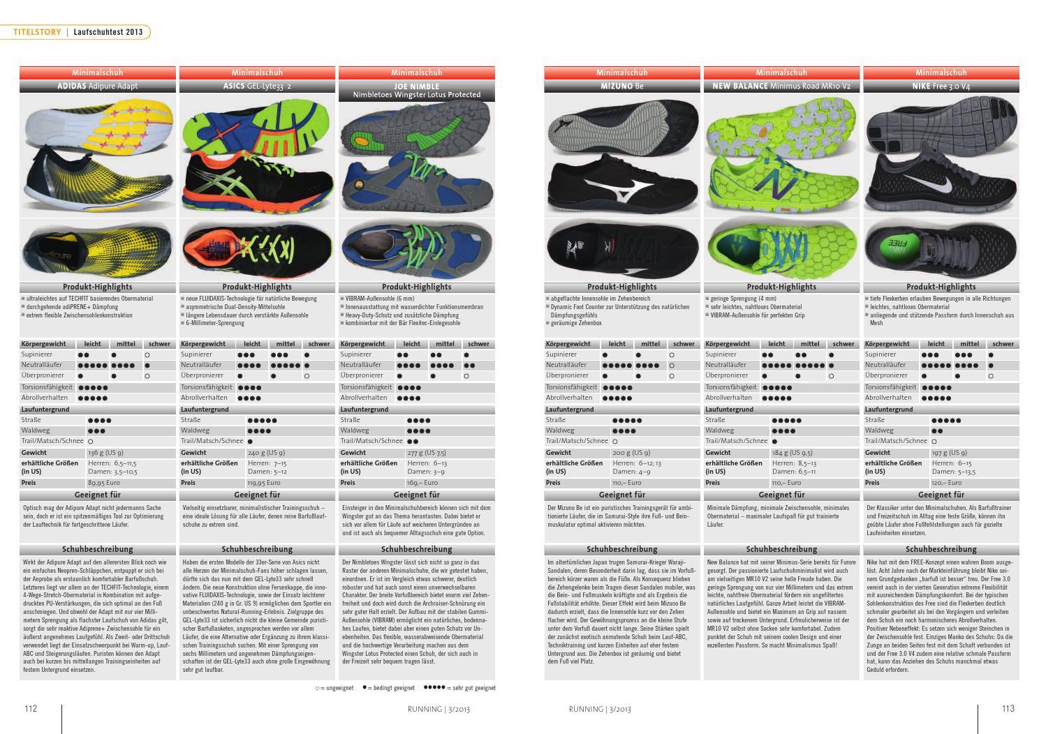 RUNNING Nr. 155 Laufschuhtest by Sportagentur Wags issuu