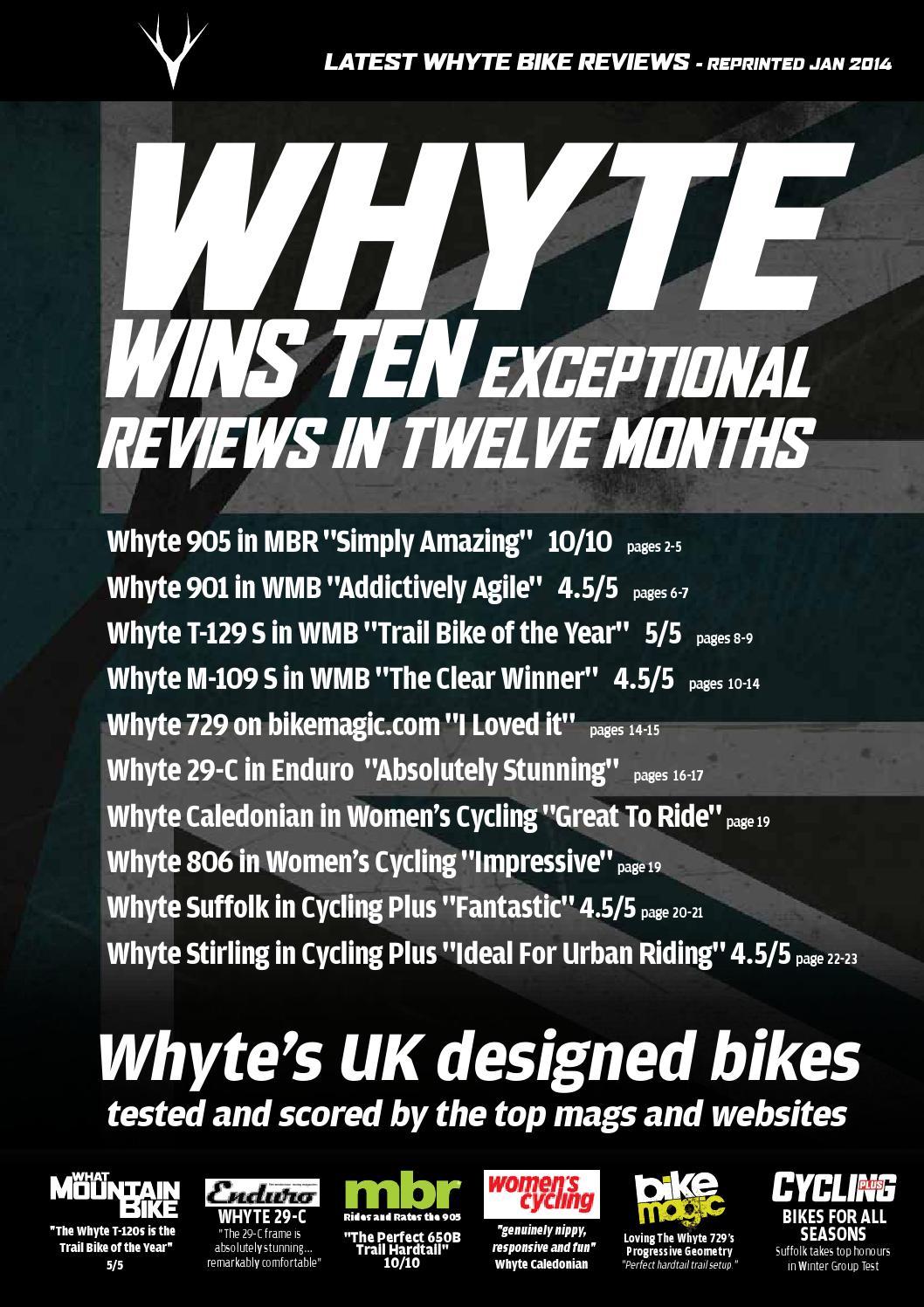 d162ff34b8b Whyte Top Ten Reviews - December 2013 by ATB Sales Ltd - issuu