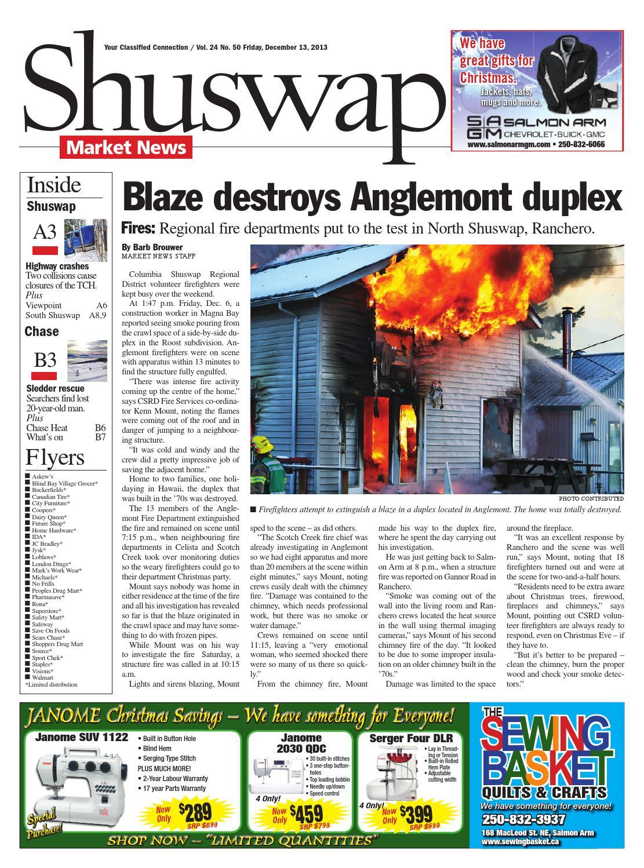 Salmon Arm Observer December 13 2013 By Black Press Issuu
