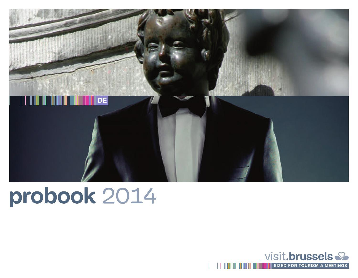 Probook 2014 deutsch by visit.brussels issuu