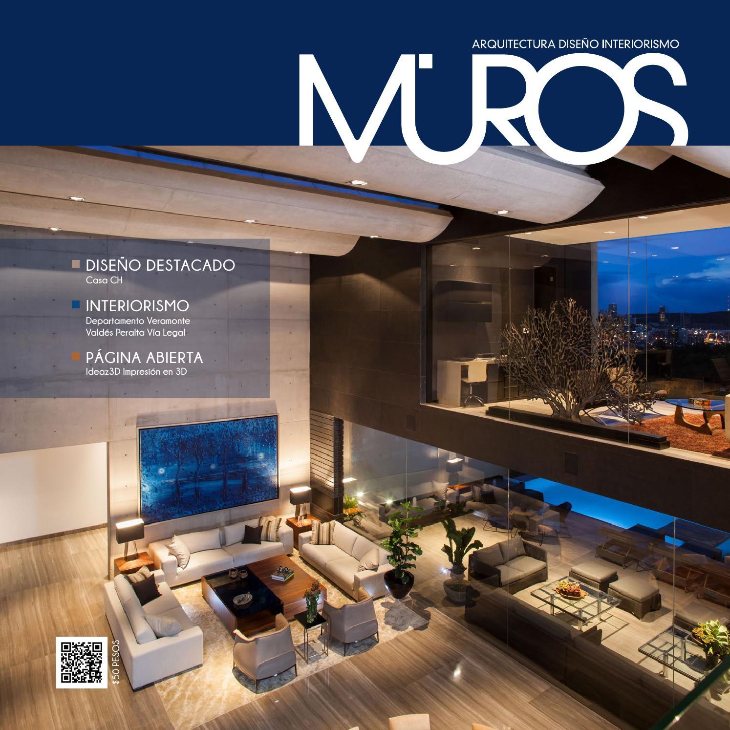 Edici n 8 revista muros arquitectura dise o interiorismo for Arte arquitectura y diseno definicion