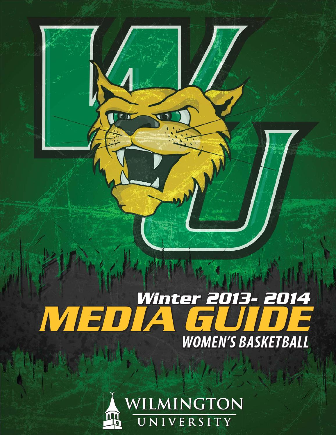 2013 14 Wu Women S Basketball Media Guide By Wilmu Athletics Issuu