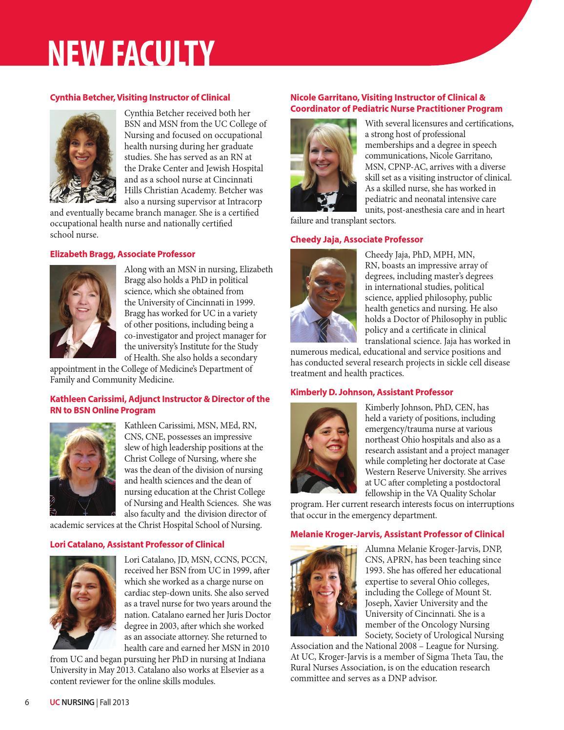 UC Nursing Magazine - Fall 2013 by UC College of Nursing - issuu