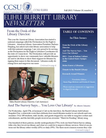 ccsu library thesis