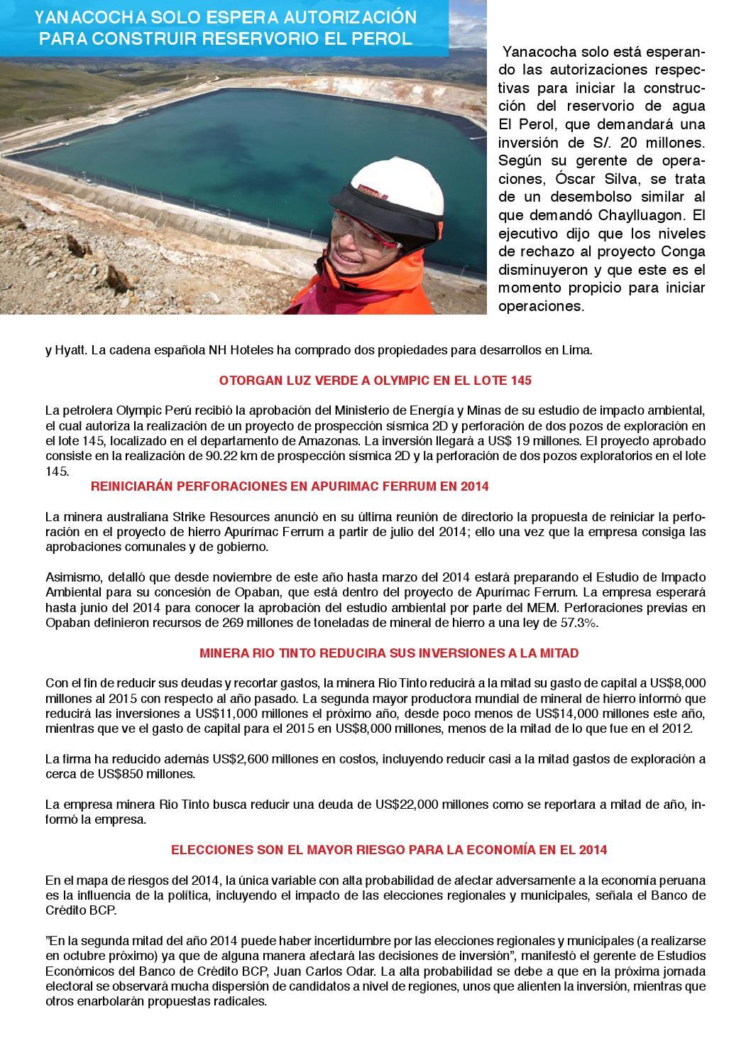PERU MINERO DICIEMBRE by Mineria Del Peru - issuu