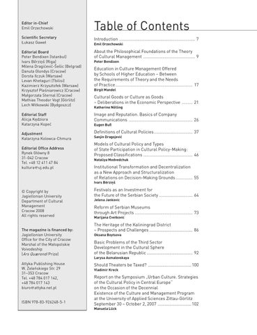 Culture Management 2008 Vol 1 (1) by Culture Management - issuu