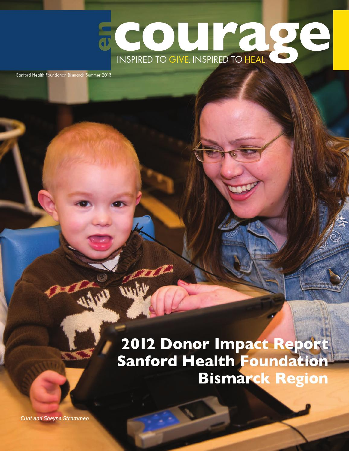 Donor Impact Report by Sanford Health - issuu