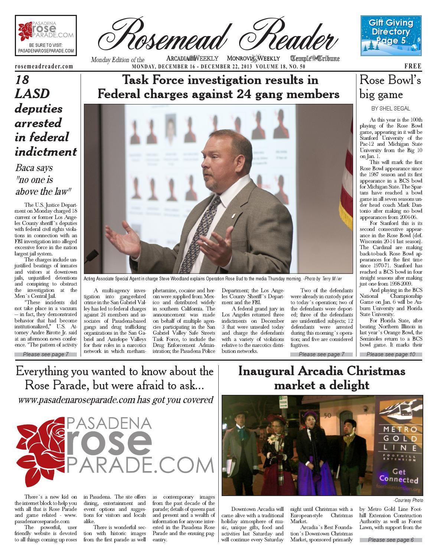 2013 12 16 rosemead by Beacon Media News - issuu